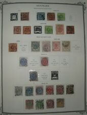 DENMARK COLLECTION 1851-2002 in Scott Specialty Album, mint and used Scott $4718