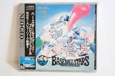 Baseball Stars Professional Factory Sealed NEO GEO CD CDZ NEOGEO Japan Import