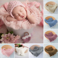 Baby Photo Stretch Infant Muslim Wraps Soft Blanket Photography Props Background