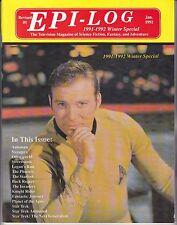 Epi-Log Special #1 1992 TV Series Star Trek Logan's Run Buck Rogers Planet Of Th