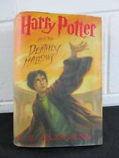 Harry Potter and the Deathly Hallows Hardcover Book 7 First Printing July 2007