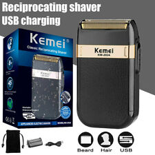KEMEI KM-2024 Electric Shaver USB Beard Blade Razor Clipper Trimmer Washable