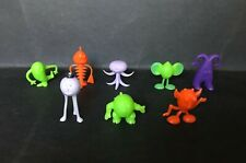 CEREAL TOY R&L CRATER CRITTERS 1ST SERIES 1968 SET OF 8