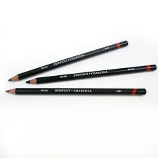 Derwent Charcoal Pencils for Art & Sketching - Light, Medium or Dark