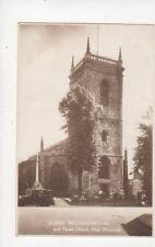 War Memorial Cross Parish Church High Wycombe [Kingsway S17076] RP Postcard 762a