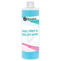 Daabz Nail Prep & Polish Wipe Gel Polish Cleanser Cleaner UV LED Manicure 250ml