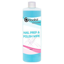 Daabz Nail Prep & Polish Wipe Gel Polish Cleanser Cleaner UV LED Manicure 250ml