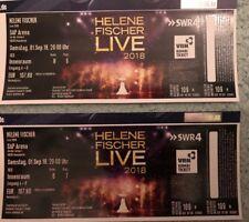 2 Tickets Helene Fischer Mannheim Reihe 6 + 8
