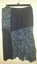 Avenue Plus Size Elastic Waist Patchwork Skirt ~ Size 22/24