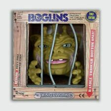 Tri Action Toys Boglins Toy King Dwork Hand Puppet in Retro Style Cage Style Box