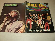 JUKE BOX 213 (1/73) NEW YORK DOLLS MICK JAGGER FRANK MICHAEL JOHN LENNON KINKS