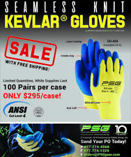 ANSI Cut Level 4 - Cut & Puncture Resistant Gloves - SALE - Case = 100 pair XL