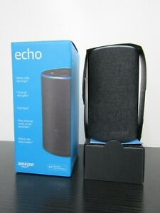 Amazon Echo Smart Speaker 1st Generation *Missing Power Plug In