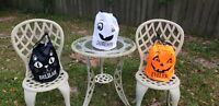 Personalized Halloween Tote Buckets Baskets Bags - Drawstring Closure -Brand New