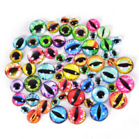 20Pcs Glass Doll Eye Making DIY Crafts For Toy Dinosaur Animal Eyes Accessories