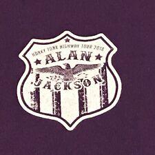 Alan Jackson Local Crew Shirt - 2018 Honky Tonk Highway Tour - Used - Xl