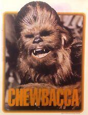 Original 1978 Star Wars Chewbacca Chewie Hot Peel Iron On Transfer