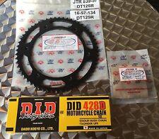 DID Kettensatz Yamaha DT125R, DT125RE, DT 125 R, '90-06, Kettenkit, 16-57-134