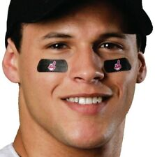 CLEVELAND INDIANS WORLD SERIES EYE BLACKS TWO PAIRS 4 STRIPS MADE IN USA MLB
