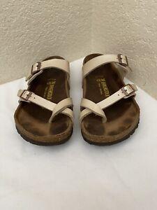 Birkenstock Mayari Pearl Birko Flor Sandals Women Size 38/ L7