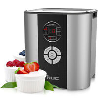 NUC Premium Smart Fermenter Greek Yogurt Cheese Maker Machine KGC-712KC SILVER