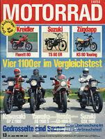 1 Motorrad 1981 13/81 Laverda 500 SFC Florett Morini 500 Camel Zündapp KS moto