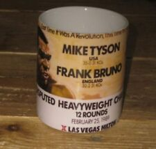 Mike Tyson Frank Bruno 89 Fight Advertising MUG