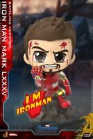 Cosbaby Hot Toys Avengers Endgame COSB651 Iron Man MK85 Battling Ver. figure Hea