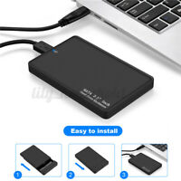 2 TB tragbare externe Festplatte Ultra Slim USB 3.0 SATA Storage Devices Gehäuse