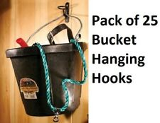 (25) ea Scenic Road # Srbh Barn Feed & Water Bucket Hanging Hook or Gate Latch