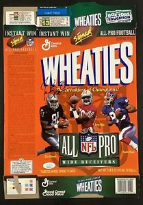 Tim Brown Signed Cereal Box Wheaties Football Raiders All Pro Autograph HOF JSA