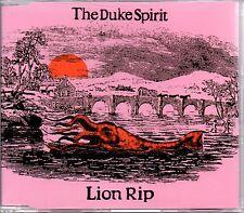 THE DUKE SPIRIT - LION RIP - RARE PROMO CD SINGLE - MINT