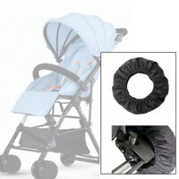 4 pcs Baby Stroller Pushchair Wheels Tire Covers Anti-dirty Pram Buggy Accessory
