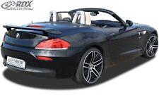 Rear Spoiler, Rear Extension,Spoiler, Splitter BMW Z4 E89 True1Blue