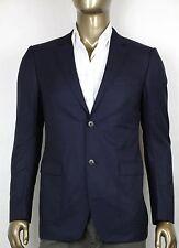 $1760 New GUCCI Mens Blue Wool Coat Blazer Jacket IT 46/US 36 353095 4379