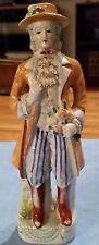 Handpainted Japan Colonial Man Figurine
