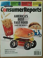 Consumer Reports Best Fast Food Verte vs Porsche vs BMW Aug 2014 FREE SHIPPING