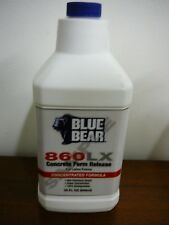 Franmar Blue Bear Concrete Form Release 860LX for Latex Forms 32 oz. Concentrate