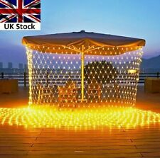 LED String Fairy Mesh Net Lights Christmas Party Outdoor Garden EU plug+UK plug
