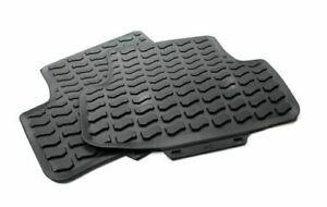 Genuine Audi Q2 Rear Rubber Floor Mats Pair