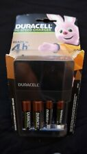 Duracell Hi-Speed Charger CEF14 inc 2 AA & 2 AAA Batteries