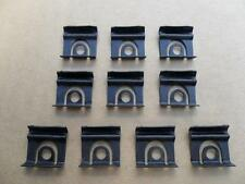 10 NOS WINDSHIELD & BACKGLASS MOULDING CLIPS! '64 1/2 thru 66 FORD MUSTANG! 7110