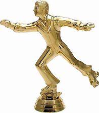 10 Rollschuh-Lauf Figuren 3D  mit Marmorsockel (Pokale Pokal Rollschuhe Sport)