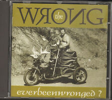 WRONG Everbeenwronged CD 1994 Top Hole Ever Been Wronged