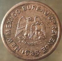 1935 NEW MEXICO TAX TOKEN 5 MILLS EMERGENCY SCHOOL TAX PURCHASE