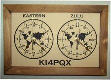 Dual Clocks for Ham Amateur Radio Operator