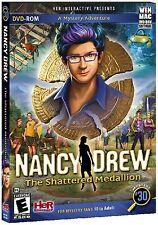 Nancy Drew THE SHATTERED MEDALLION PC & Mac Game DVD-ROM Adventure NEW