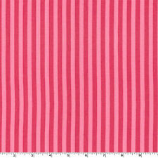 By Yard - Clown Stripe Candy Pink Michael Miller Fabric CX3584-CAND-D