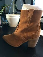 New Princess Polly Suede Boots--Just Because Territory  Sand Color size 9