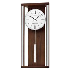 Reloj De Pared Seiko De Péndulo De Timbre Doble (Modelo nº QXH068B)